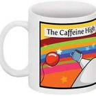 Caffeine High Coffee Cup - The Oatmeal