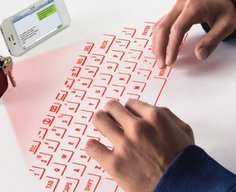 CTX Virtual Keyboard fits on a keychain