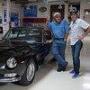 Jay Leno Welcomes Adam Carolla and His 1966 Ferrari 330 GT 2+2