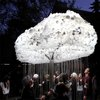 Interactive lightbulb cloud