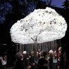 Interactive lightbulb cloud