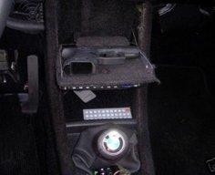 Secret Pistol Stash Compartment in BMW