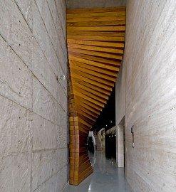 Curtain Door by Matharoo Associates - Design Milk | Design Milk