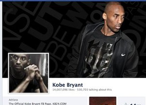 Kobe Bryant's Incredible Facebook Campaign
