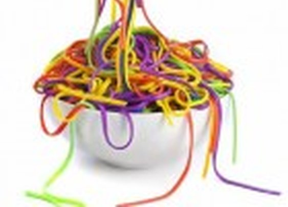 Colored Spaghetti « Do It And How