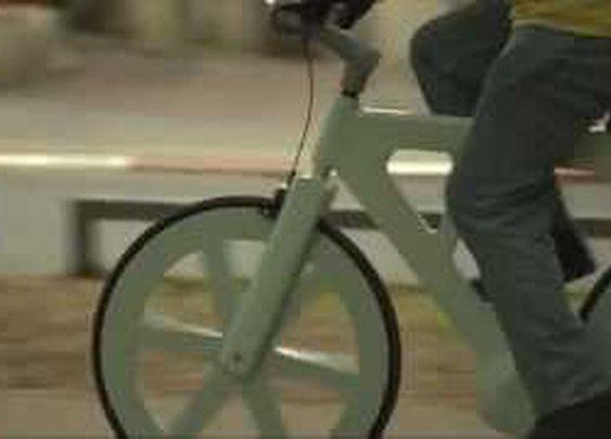 Cardboard bike by Izhar Gafni - YouTube