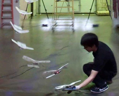 Flapping-Winged Robot Perches on Hand : Discovery News