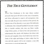 The True Gentleman