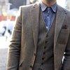 Men's Style Fashion Blog - The Versatile 3 Three Piece Donegal Tweed Suit | TSBmen