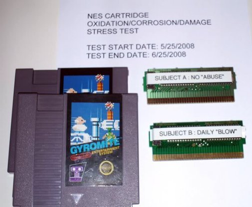 Did Blowing into Nintendo Cartridges Really Help?
