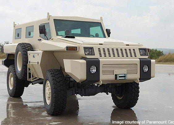 Paramount Marauder Mine Protected Vehicle - Army Technology