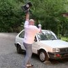 Smashing A Car With A 45-kg (~100-lb) Thor Hammer | Geekologie
