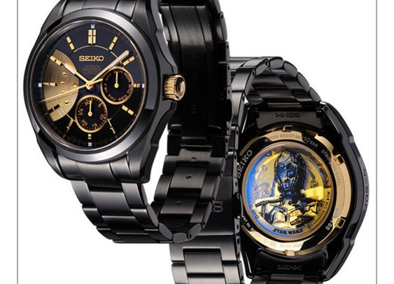 Limited Edition Luxury Seiko Star Wars Watches | Geekologie
