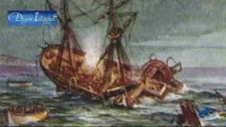 The Birkenhead shipwrecked near Dangerpoint in 1852 - YouTube