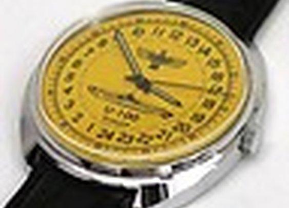 Russian Mechanical watch 24 hr (#0416) German Submarine U-100 captain Schepke | eBay