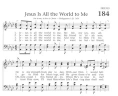 Jesus is All the World to Me - Baptist Hymnal 1991