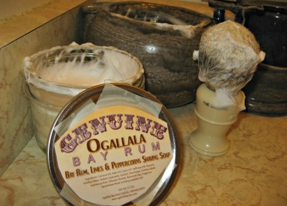 Shaving Soap Review: Genuine Ogallala Bay Rum, Limes and Peppercorn   Sharpologist