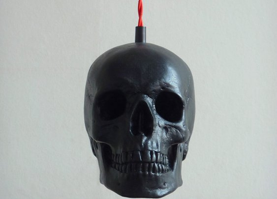 Skull Pendant Light | Cool Material