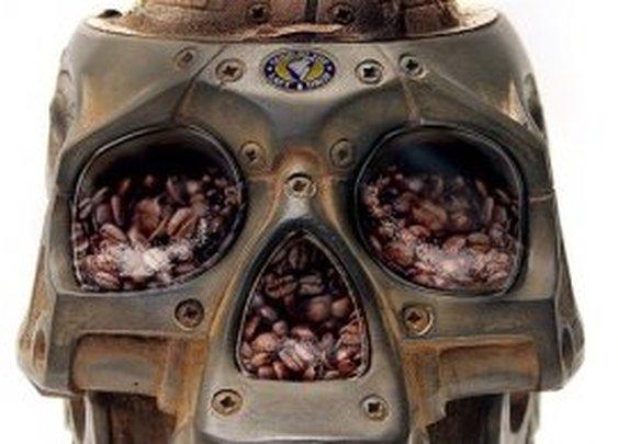 Skull Coffee Grinder