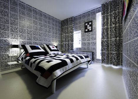 Saucy Secret: QR Code Covered Room Hides a Hot Surprise | Designs & Ideas on Dornob