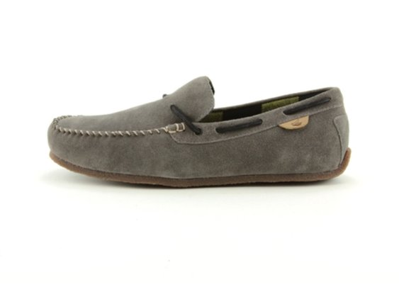 Mens Sperry Top-Sider RR Moc Casual Shoe, Gray