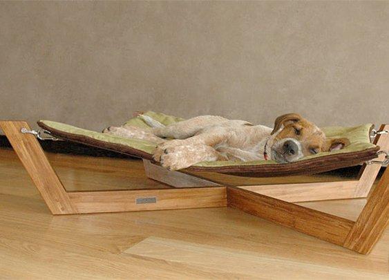 Bamboo Hammock Dog Bed at werd.com