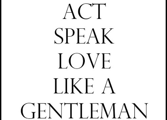 Guys Only / Be a Gentleman