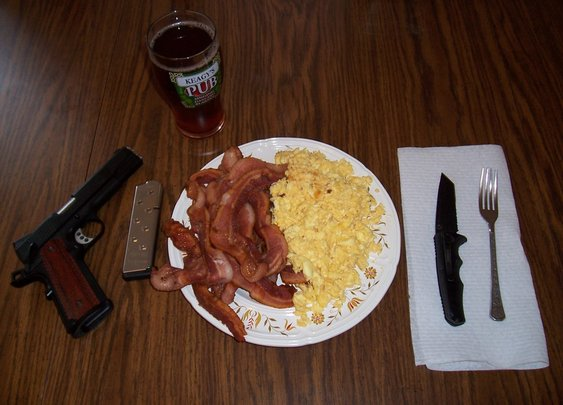 A Man's Breakfast