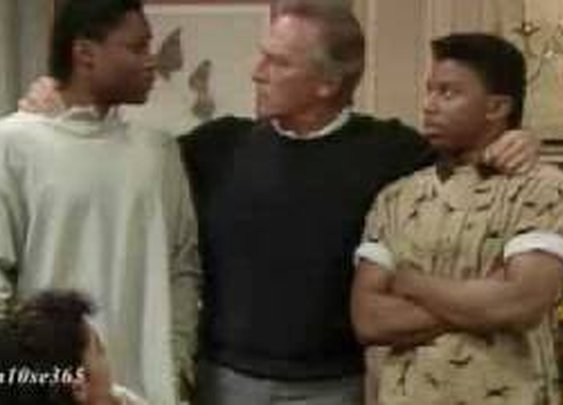 Christopher Plummer on The Cosby Show