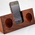 Koostik: Stylish Real Wood Ipod Docks - WHOA