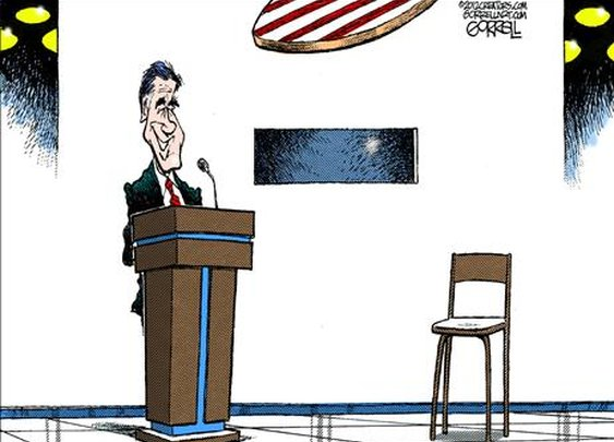 Political Cartoons - Political Humor, Jokes, and Pictures, Obama, Palin ~ October 4, 2012 - 103976