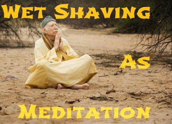 Wet Shaving As Meditation   Sharpologist