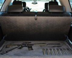 Secret Gun Compartment in SUV   StashVault