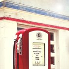 Garage Decor Photograph Old Gas Station Pump by MollysMuses