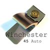 Money Clip Winchester 45 auto bullet by lizzybleu