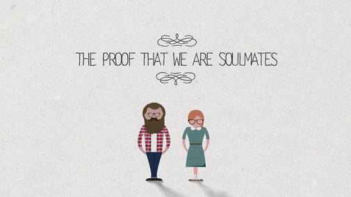 The proof that we are soulmates   Video   1:48