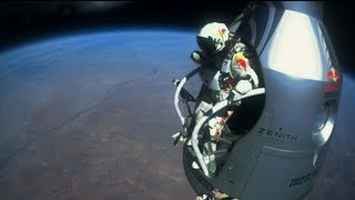 Felix Baumgartner's 128,000 freefall - Mission Highlights