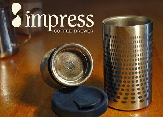 Impress Coffee Brewer by Gamila Company: Aly & Beth Khalifa — Kickstarter