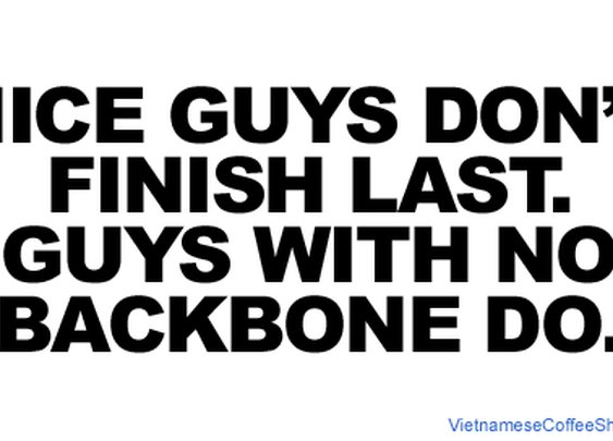 Dating advice nice guys
