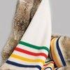 Hudson's Bay Coyote Fur Blanket