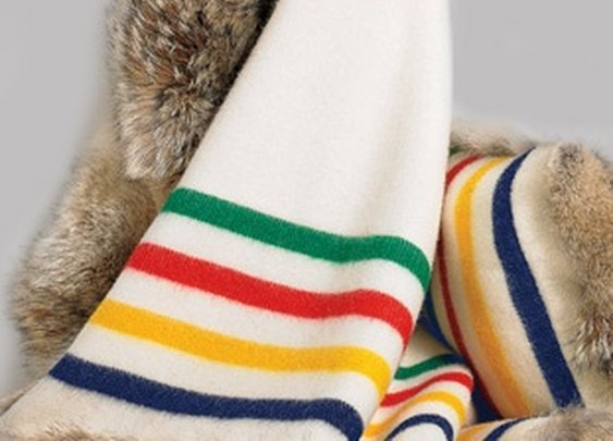 Hudson's Bay Coyote Fur Blanket