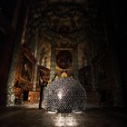 A French Church Gets A Flowering Heart Made Of Foil | Co.Design: business + innovation + design