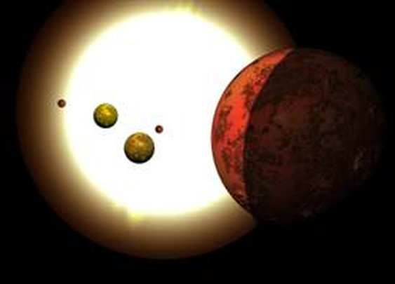 It's the tiniest alien solar system ever found