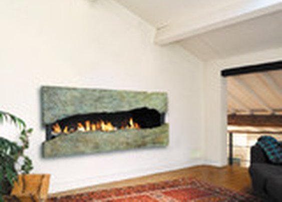 by CF + D custom fireplace design