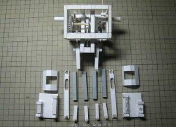 Paper Robot That Walks