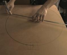 Israeli man creates bike from recycled cardboard