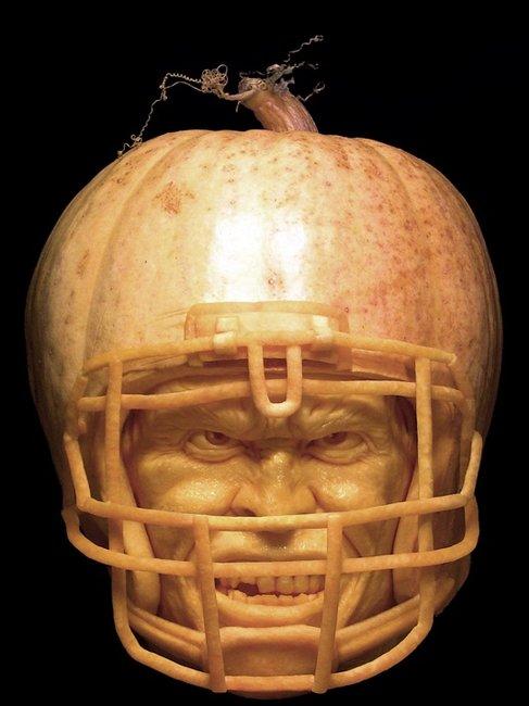 Manly pumpkin