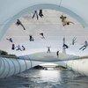 Trampoline Bridge concept is in-Seine