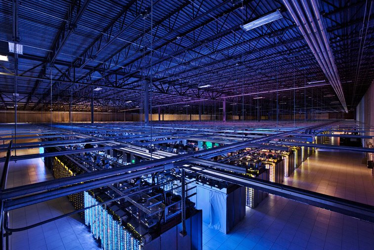 A rare look inside the secretive Google Data Centers