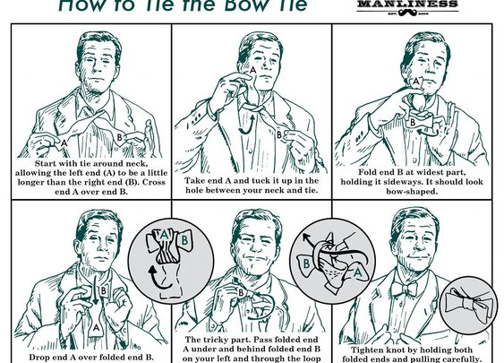 How to Tie a Bow Tie | The Art of Manliness